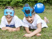 Unternehmungen für den Kindergeburtstag: Kinder-Masken zum selber basteln