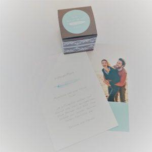 hochzeit-tischdeko-box-schachtel-sticker-spitzenband-spitze-menukarte-smartphoto