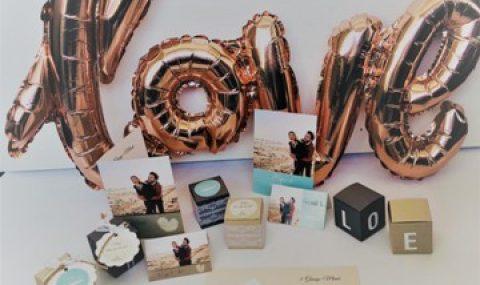 Hochzeit – Tischdeko-Ideen mit kleinen Boxen