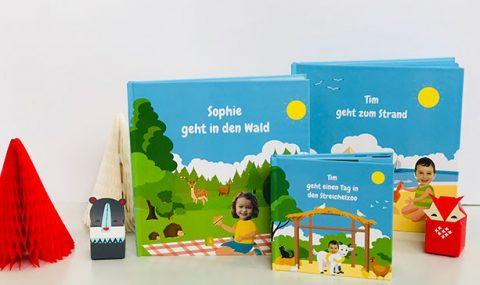 Am Strand, im Wald oder im Streichelzoo – und Dein Kind in der Hauptrolle!