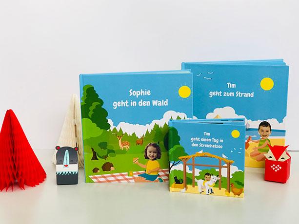 Personalisierbares Lesebuch für Kinder mit Foto