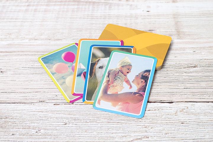 Memo-Karten personalisiert mit Fotos