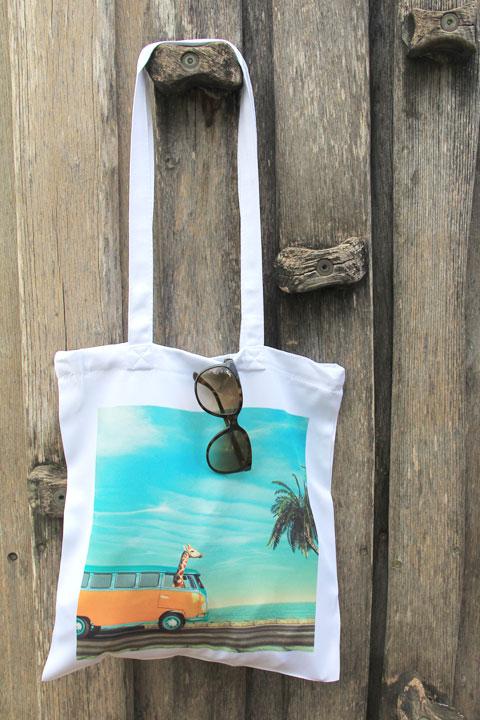 Einkaufstasche personalisiert mit Foto