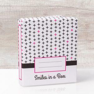 Fotobox Design Kreuz pink