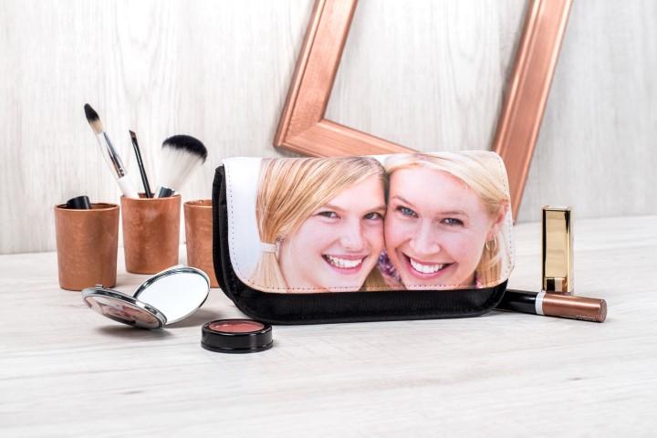 Individuelle Kosmetiktasche mit Foto