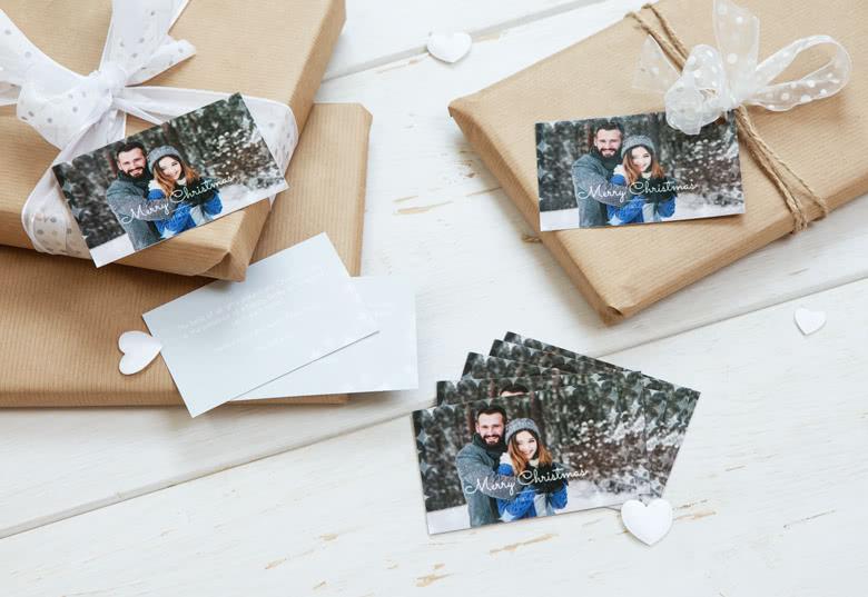 Geschenke mit personalisiertem Geschenkanhänger