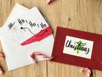 Weihnachtskarten – selbstgemacht und vervielfältigt