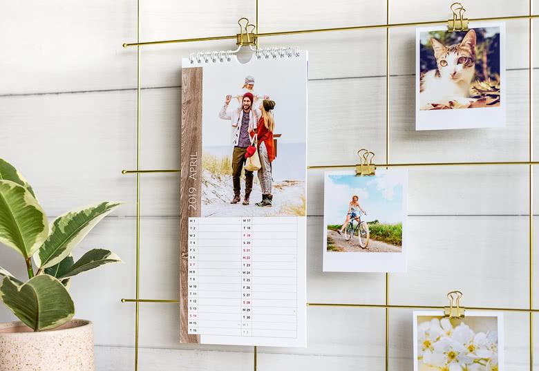 Küchen-Kalender personalisierbar mit Fotos