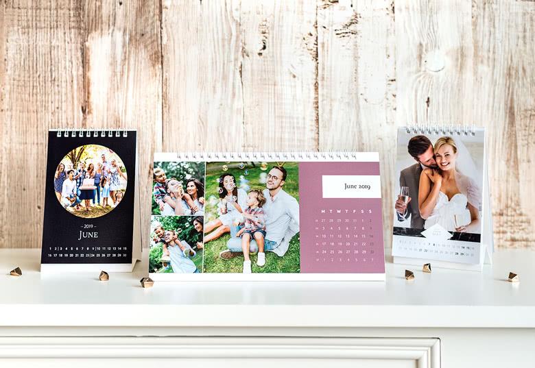 Tischkalender personalisierbar mit Fotos