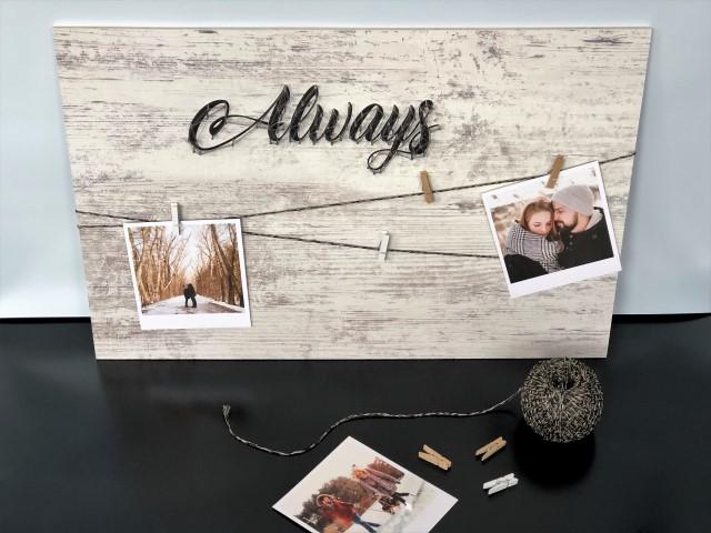 DIY Bildergalerie Valentinstag