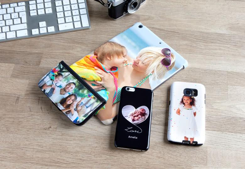 Smartphone- und Tablet-Case personalisierbar