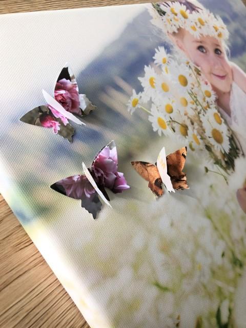 Wanddeko 3D-Effekt Frühling