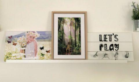 Wanddekorationen fürs Kinderzimmer mit 3D-Effekt