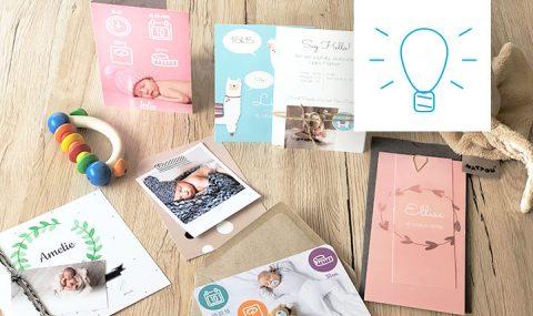 Hurra, das Baby ist da – Tipps & Tricks zur Gestaltung Deiner Babykarten