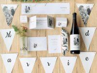 Hochzeitspapeterie – Save the Date, Einladung, Menü… Teil 1