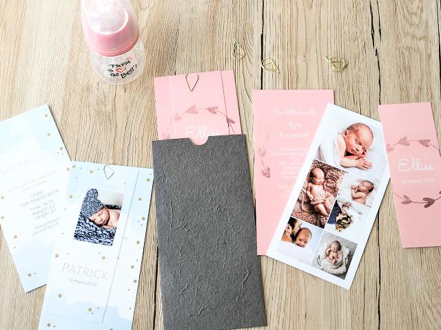 Kreative Geburtskarten