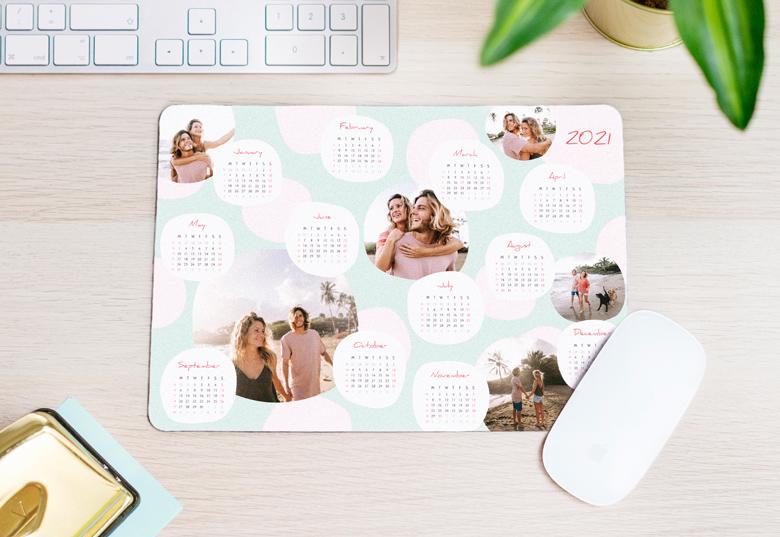 Mousepad Kalender