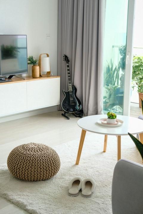 Akustikvorhang für bessere Raumakustik