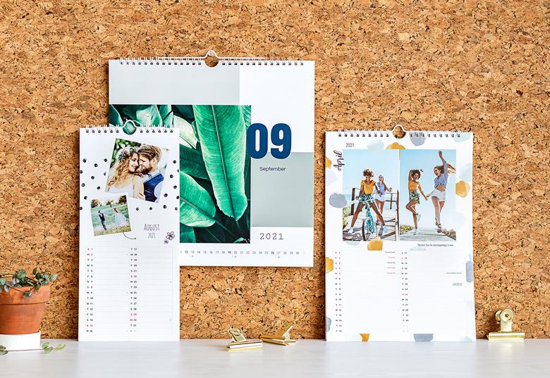 Wandkalender mit eigenen Fotos gestalten