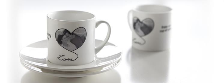 Tasses à café personnalisées avec photo