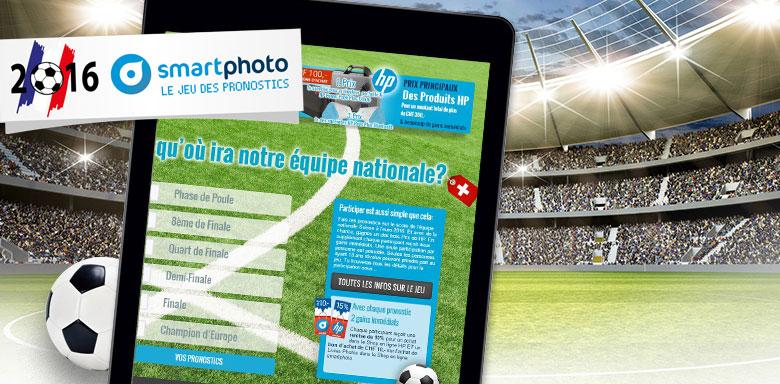 Jeu des pronostics smartphoto Euro 2016