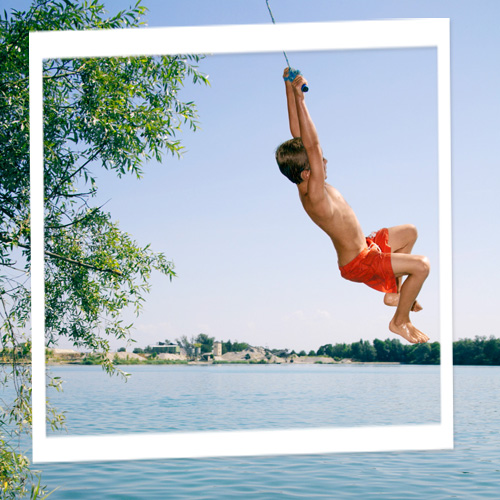 Photo de vacances baignade