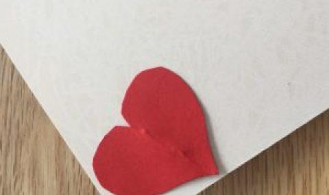 Carte de vœux photo pour la saint-Valentin