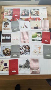 Calendrier de l'Avent personnalisé avec photos et pochettes
