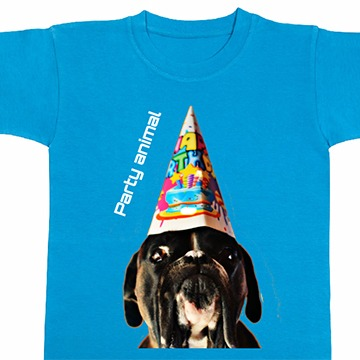T-Shirt mit Hundebild