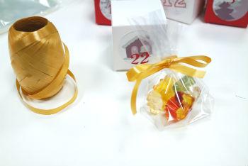 Sachet de bonbons pour calendrier de l'Avent