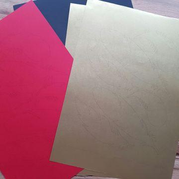 Papier de bricolage coloré