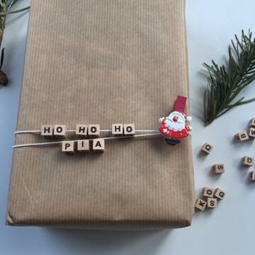 Emballage cadeau père Noël