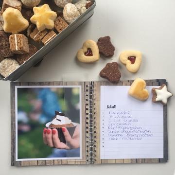 Livre de recettes de biscuits de Noël personnalisé