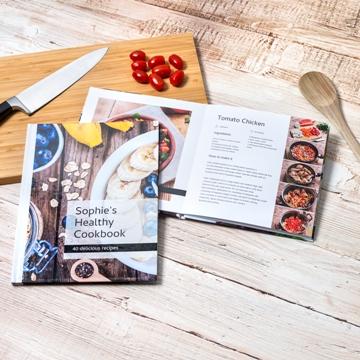 Livre de cuisine personnalisé
