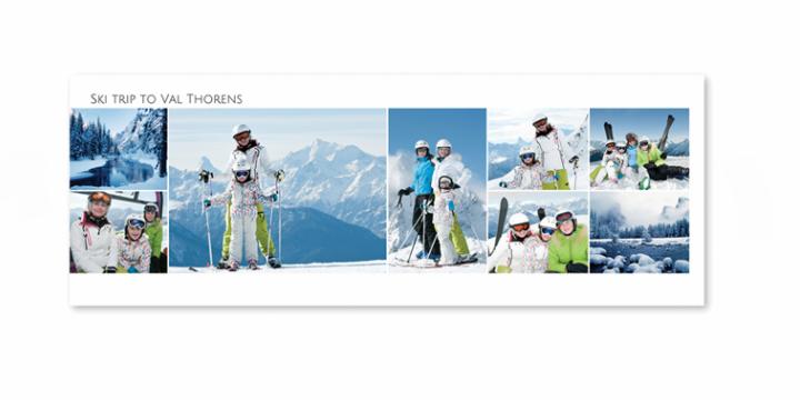 Photos des vacances au ski