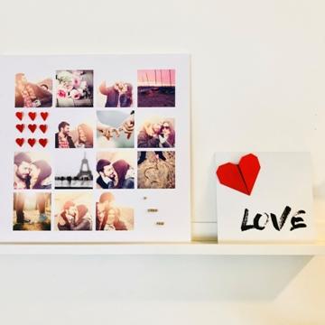 Déco Saint-Valentin «Love»