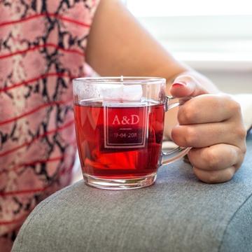 Verre à thé personnalisé