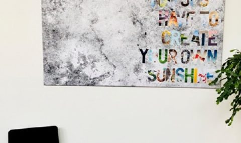 Crée ta propre toile à texte