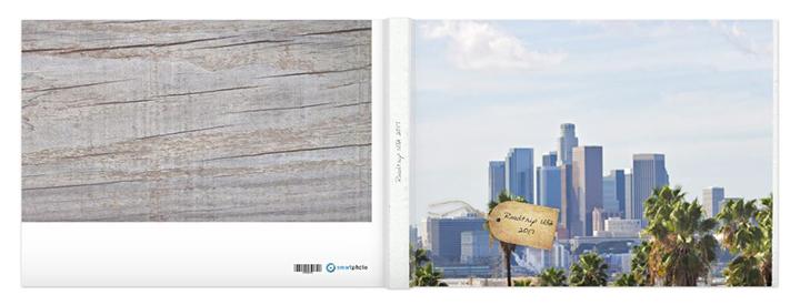 Personalisiertes Fotobuch-Cover