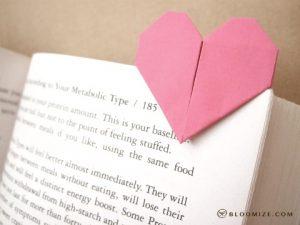 fête des mères-bricolage-cœur-origami-marque page-smartphoto