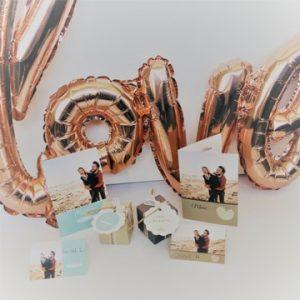 mariage-déco de table-décoration de table-boîte-autocollant-sticker-étiquette cadeau-marque place-carte de table-carte de menu-smartphoto