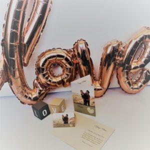 mariage-déco de table-décoration de table-boîte-love-amour-marque place-carte de table-carte de menu-cœur-smartphoto
