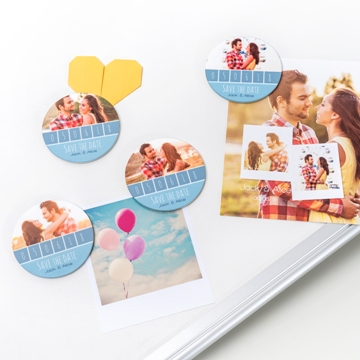 mariage-save the date-magnet photo-smartphoto