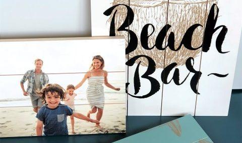 Photo sur planches en bois: une œuvre d'art à personnaliser de 1001 façons