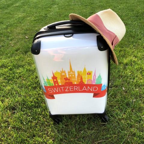 Valise avec photo