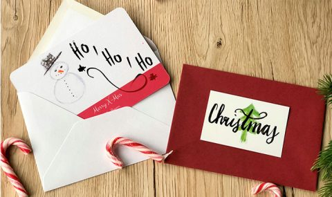 Crée tes propres cartes de Noël