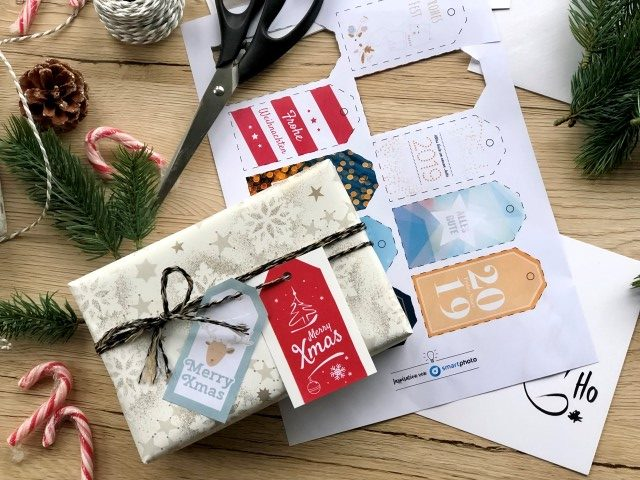 Etiquettes cadeaux toutes prêtes