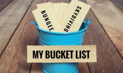 Bucket list et bonnes résolutions