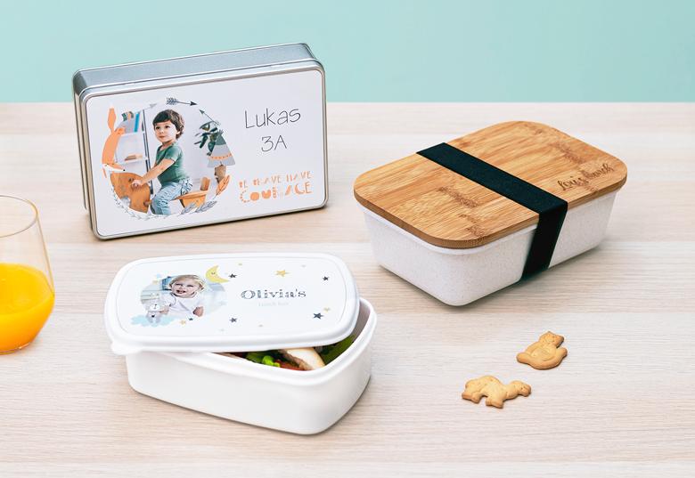 Zum Lunchen: Box aus Bambus, Plastik oder Alu
