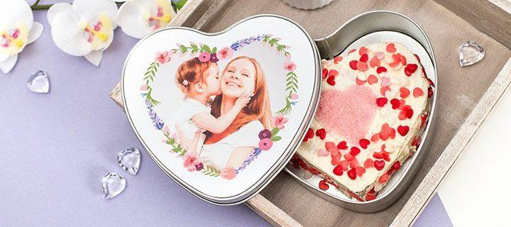Maak zelf je hartvormige chocoladetaart